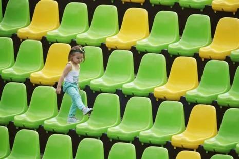 Olympic méo mặt với khán đài trống vắng - ảnh 1