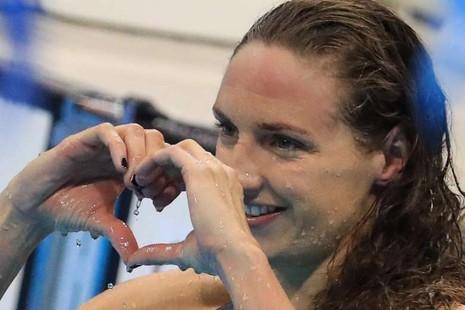 Katinka Hozzsu đã có tấm HCV Olympic Rio thứ ba và hai kỷ lục.