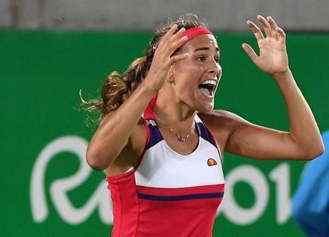 Tay vợt trẻ đoạt HCV Olympic đầu tiên cho Puerto Rico - ảnh 1