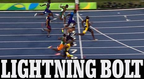 'Tia chớp' Usain Bolt dễ dàng giành HCV đầu tiên ở Olympic Rio - ảnh 1