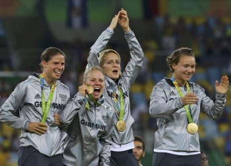 Bóng đá nữ Olympic: Đức xuất sắc đăng quang lịch sử - ảnh 1
