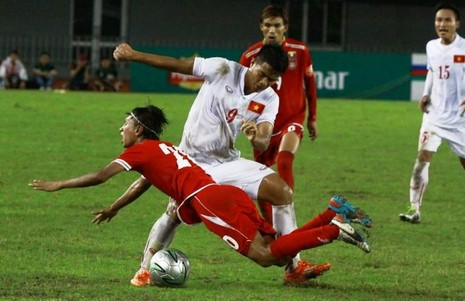 Giải tứ hùng quốc tế U-19 - KBZ Bank: Việt Nam dẫn đầu bảng - ảnh 1