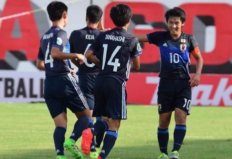 U-16 Nhật qua hai trận ghi được 15 bàn chưa để thủng lưới