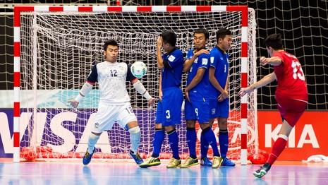 Futsal World Cup: Thái Lan nói lời chia tay - ảnh 2