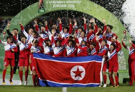 Bóng đá nữ Triều Tiên tiếp tục thăng hoa - ảnh 1