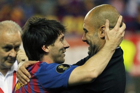 Messi sẽ tái ngộ với ông thầy Pep Guadiola tại Man City - ảnh 1