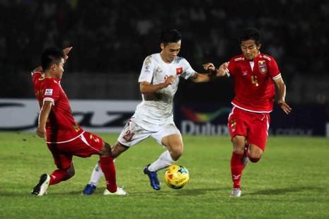Myanmar theo chân Việt Nam vào bán kết AFF Cup - ảnh 1