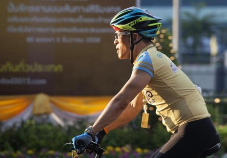 Vua mới của Thái Lan là một nhà thể thao tài năng - ảnh 3