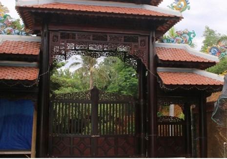 Đoàn kiểm tra thu thập hồ sơ khu đất có 'biệt phủ' ở Đà Nẵng - ảnh 1