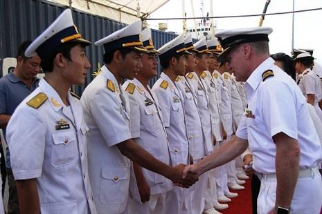 Hải quân Úc - Việt Nam huấn luyện xử lý tàu lạ - ảnh 2