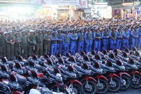 Đà Nẵng ra quân các lực lượng tuần tra, phòng chống tội phạm - ảnh 1