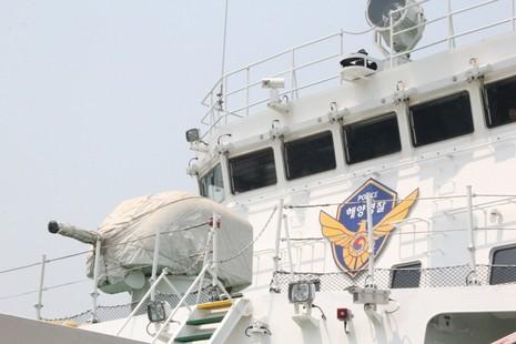 Tàu huấn luyện lực lượng bảo vệ bờ biển Hàn Quốc đến Đà Nẵng - ảnh 4