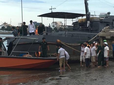 Đã tìm được thi thể 3 nạn nhân mất tích trong vụ chìm tàu - ảnh 2