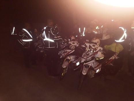 Xử lý hàng chục xe Exciter bám đuổi, cổ vũ nhóm xe 'phượt' Bắc - Nam - ảnh 1