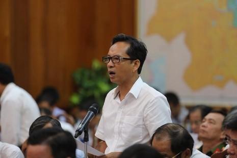 Cục trưởng Cục hải quan TP.Đà Nẵng, Nguyễn Tiến Thọ giải trình vụ cán bộ hải quan sân bay bị tố nhũng nhiễu