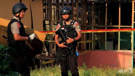 Nổ lớn tại Indonesia làm 4 người bị thương - ảnh 1