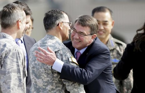 Triều Tiên phóng tên lửa 'chào mừng' Bộ trưởng Mỹ - ảnh 1