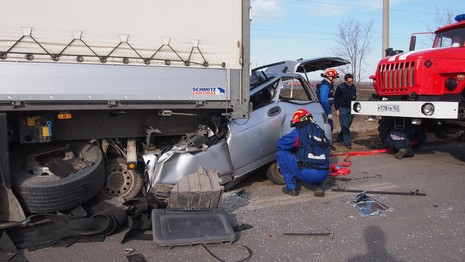 Ba người Việt tử vong do tai nạn xe hơi nghiêm trọng tại Nga - ảnh 1