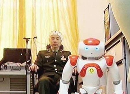 Trung Quốc chế tạo robot được điều khiển bằng não bộ - ảnh 1