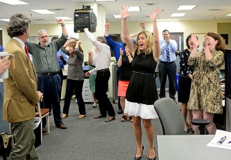 Giải thưởng báo chí Pulitzer 2015: New York Times thắng lớn - ảnh 1