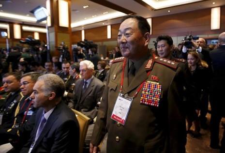 Bộ trưởng Quốc phòng Triều Tiên bị xử bắn vì ngủ gật? - ảnh 1