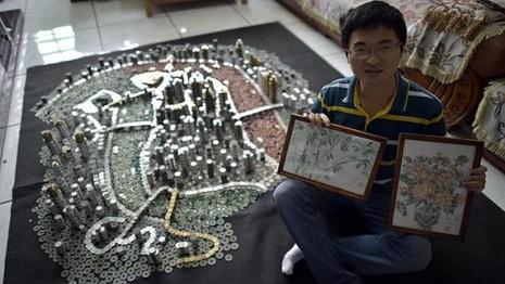 """Thành phố """"xây"""" bằng 50.000 đồng xu - ảnh 3"""