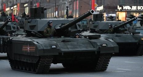 Nga công bố khu vực triển khai xe tăng Armata - ảnh 1