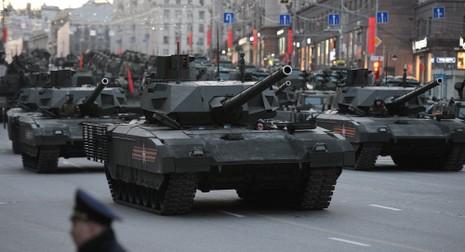Quân đội nước ngoài 'xếp hàng' mua xe tăng Armata  - ảnh 1