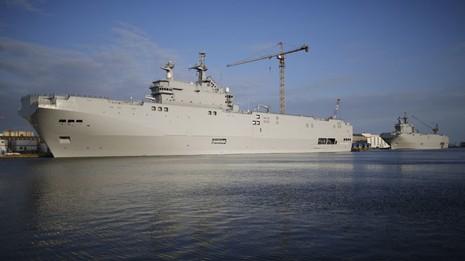 Thương vụ tàu Mistral Nga – Pháp tiếp tục bế tắc - ảnh 1