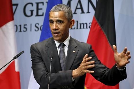 Tổng thống Obama: 'Ông Putin đang phá hủy nước Nga' - ảnh 1