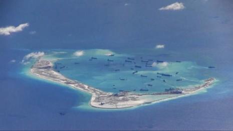 TQ nói 'không xấu hổ' vì xây đảo nhân tạo phi pháp trên biển Đông - ảnh 1