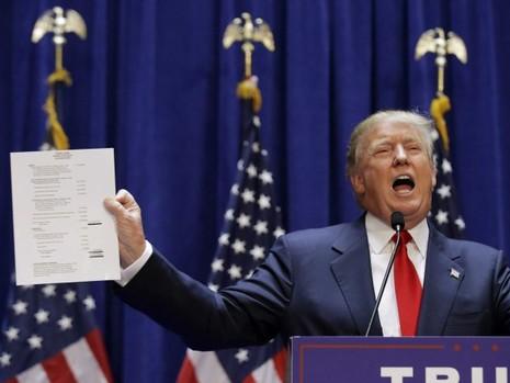 Nghi ngờ ứng cử viên tổng thống Mỹ thuê diễn viên cổ vũ - ảnh 1