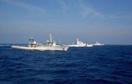 Nhật Bản và Trung Quốc xây dựng cơ chế liên lạc hàng hải - ảnh 1