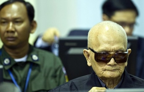 Hai 'trùm' Khmer Đỏ bắt đầu phiên điều trần kháng cáo - ảnh 1