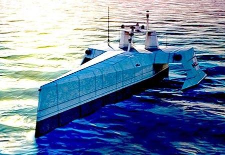 Mỹ triển khai rô - bốt 'Thợ săn biển' chống tàu ngầm - ảnh 1