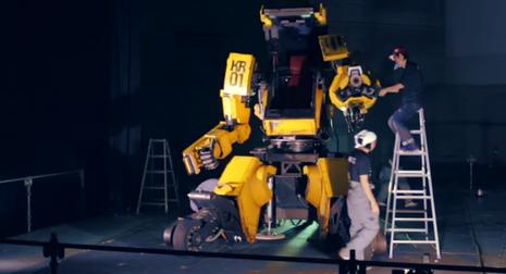 Nhật - Mỹ chuẩn bị cho 'đại chiến' robot khổng lồ - ảnh 1