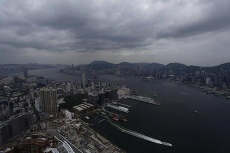 Hình ảnh của 'bộ ba siêu bão' ập vào Trung Quốc - ảnh 6