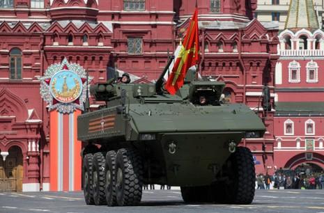 Trung Quốc phát triển mẫu xe bọc thép giống Nga - ảnh 1
