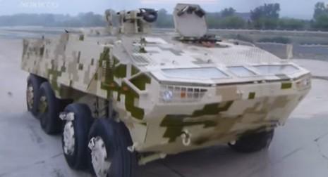 Trung Quốc phát triển mẫu xe bọc thép giống Nga - ảnh 2