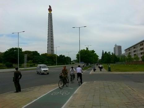 Triều Tiên ban chính sách 'ưu ái' cho người đi xe đạp - ảnh 1