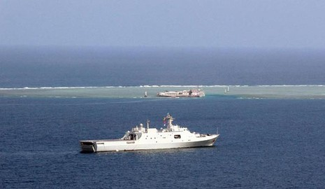 Trung Quốc tập trận đổ bộ quy mô lớn ở Biển Đông - ảnh 1