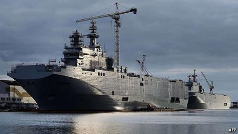 Pháp sẽ quyết định về thương vụ Mistral trong vài tuần tới - ảnh 1