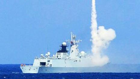 Hơn 100 tàu Trung Quốc tập bắn đạn thật tại biển Đông - ảnh 1