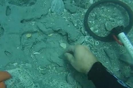 Phát hiện kho báu trong xác tàu Tây Ban Nha 300 tuổi - ảnh 1