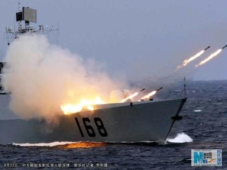 Trung Quốc, Nga tổ chức tập trận quân sự ở Biển Nhật Bản - ảnh 1