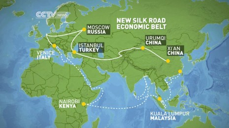 Nhật ngăn Trung Quốc lập 'một vành đai' tại Trung Á - ảnh 2
