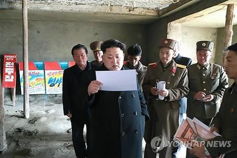Kim Jong Un thị sát nhà dưỡng lão mới  - ảnh 1