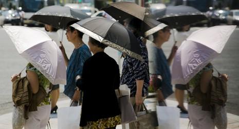 Nhật Bản: Nắng nóng khiến hơn 40 người thiệt mạng - ảnh 1