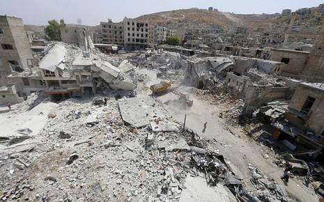 Syria: Chiến đấu cơ rơi vào chợ, hơn 30 người chết - ảnh 2