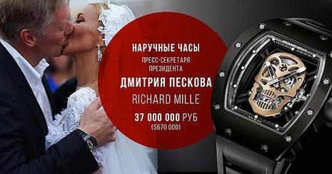 Phát ngôn viên của Putin gây xôn xao vì đồng hồ 'khủng' - ảnh 1